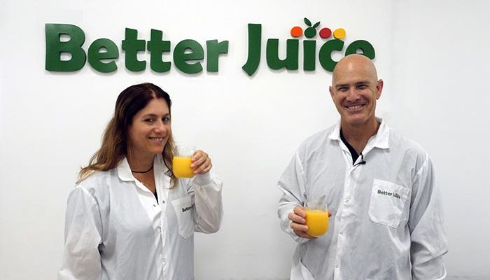 Better Juice co-founders Gali Yarom and Eran Blachinsky